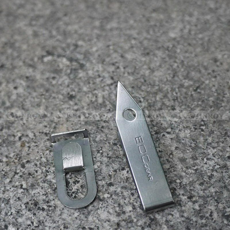 EDC Stainless Steel Tweezers Tick Gripper Survival Bush Craft Camping Tool