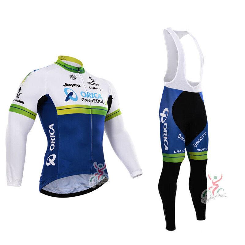 NEW mens team Thermal Fleece cycling bib pants cycling pants  cycling bib shorts