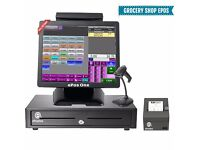 Grocery shop, Retailer ePos system all in one