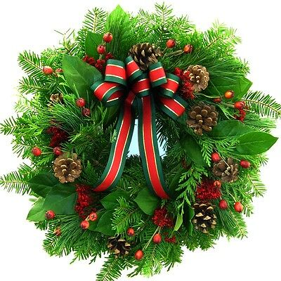 Holiday Wreath Fragrance Oil Candle/Soap Making Supplies *Free Shipping - Holiday Supplies