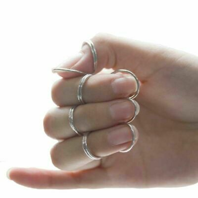 4 pcs Guitar Pick Butterfly Finger Metal Classical Finger Bass Accessories