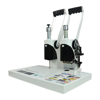 New 220v Manual Financial Hot Melt Binding Machine Melt Electric Book Binder 4cm