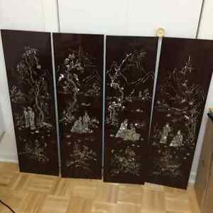 Four Season Chinese Frames