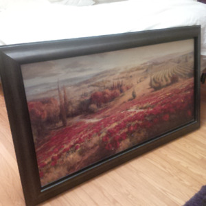 Large Framed PAINTING / PRINT - Excellent Condition