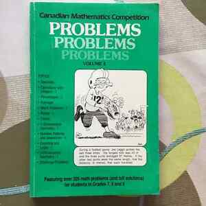 Canadian Mathematics Competition Problems Books London Ontario image 4