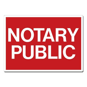 NOTARY PUBLIC $9.99 - Real Estate Business closing - Wills -