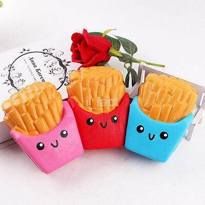 12CM Cheap Squishies Carton French Fries Cream Jumbo Squishy Children Toy US