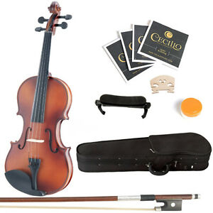 Instrument Beginner Violin Kit Violon Débutant 1056