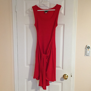 Franco Mirabelli dress, new, delicious red, size 6