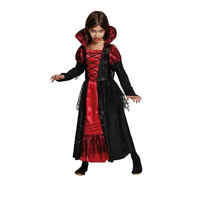 Rub - Vampir Prinzessin Kinder Kostüm Vampirin zu Halloween