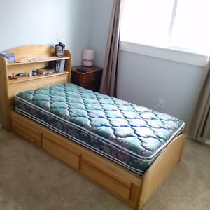 Twin Bed and Dresser set