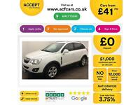 Vauxhall/Opel Antara 2.2CDTi ( 163ps ) 2012MY Exclusiv FROM £41 PER WEEK