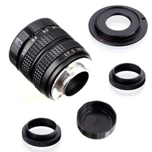 Fujian 35mm f/1.7 CCTV lens with Sony E-mount adapter