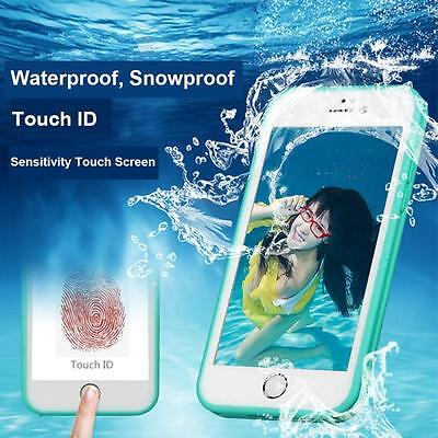 Waterproof Shockproof Hybrid Rubber Case Cover For Apple iPhone 7 Plus 6 5s (X)