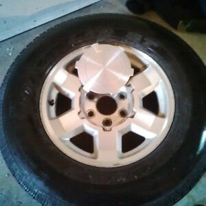 GMC Factory Wheel/Tire Combo. Great Condition- Make offer