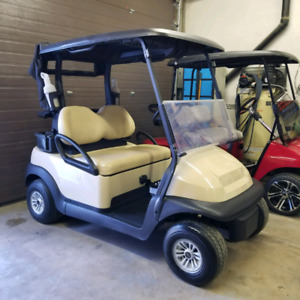 2015 Club Car Precedent 48 Electric Golf Cart Pro Carts Red Deer