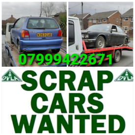 SCRAP YOUR CAR CASH PAID TODAY
