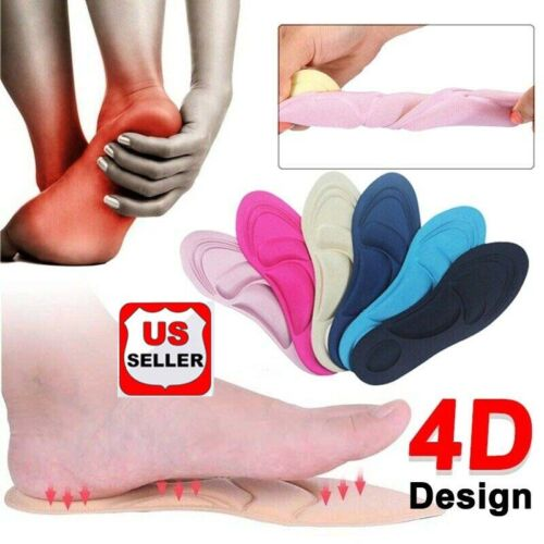 Sponge Pain Relief Insoles Arch Support Cut Shoe Pad Soft Foot Care Walking
