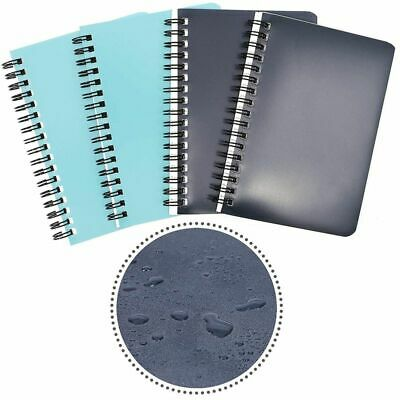 4pack Spiral Bound Weatherproof Notepads Notebooks Memo Pad Lined Paper 4 X 6