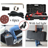 110V Electric Power Drywall Sanding Sander Tool Dry Wall Carrying Case Kit Light