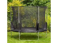Plum 10ft trampoline with enclosure