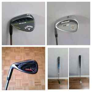 LEFT HAND Callaway and Cleveland wedges