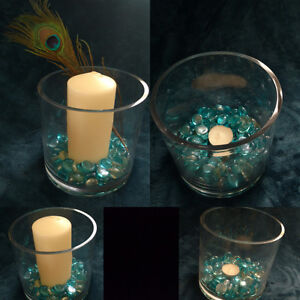 Glass Centrepiece for wedding or party
