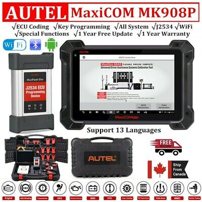 2020 Autel MaxiSys Pro MK908P Diagnostic Scanner ECU Key Coding As Maxisys Elite