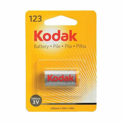 Kodak 123 Cr123 Cr123a Sf123a 3-volt Lithium Battery