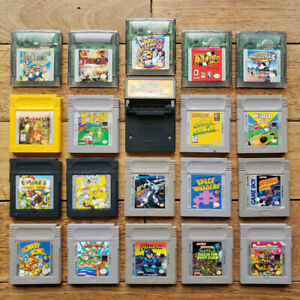 * Nintendo Gameboy Original & Color - Jeux / Games *