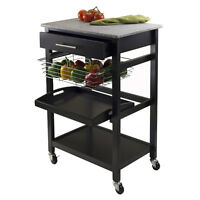 Winsome Wood Utility Cart, Trolly