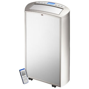 Insignia Portable Air Conditioner - 14000 BTU - Silver/Stainless