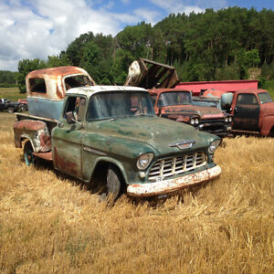 1955 and 1959 chevys