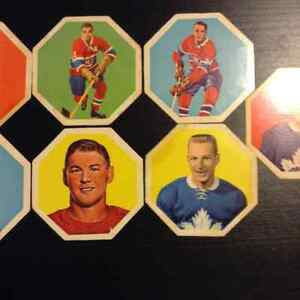 1963-64 York Peanut Butter Yellowback Hockey Disks Kitchener / Waterloo Kitchener Area image 5