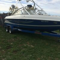 Wakeboard boat for sale less than 1/2 of new Only 160 hrs