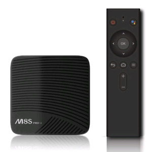 Plug and Play Ready M8S PRO L TV Android Box W/ H9 Keyboard