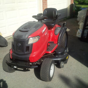 riding mower troy built used 2 times only 50 inches cutting base