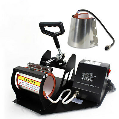 2in1 Station Mug Cup Heat Press Machine Sublimation For 11oz 12oz