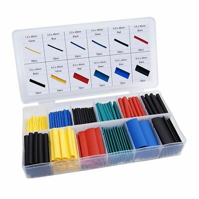 328 Pcs Set Heat Shrink Tube Assorted Insulation Shrinkable Tube 21 Wire Cable
