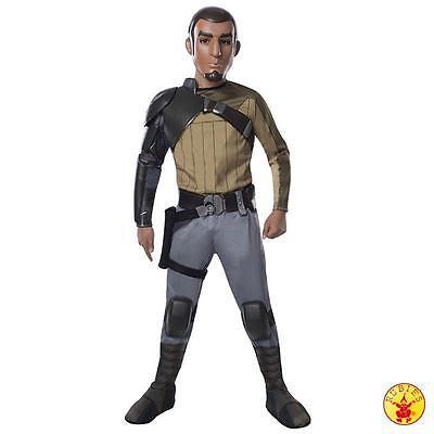 Rubies Star Wars Kostüm Kanan Jarraus Deluxe Gr. 116 - (Kanan Star Wars Kostüm)