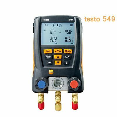 Testo 549 Air Refrigerantion Digital Meter Manifold Gauge Hvac Gauge 0560 0550