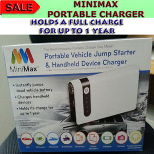 MINIMAX PORTABLE POCKET SIZE PHONE/DEVICE CHARGER