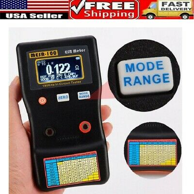 Mesr-100 V2 0.001 To 100r Auto Ranging In Circuit Esr Capacitor Tester Meter Us