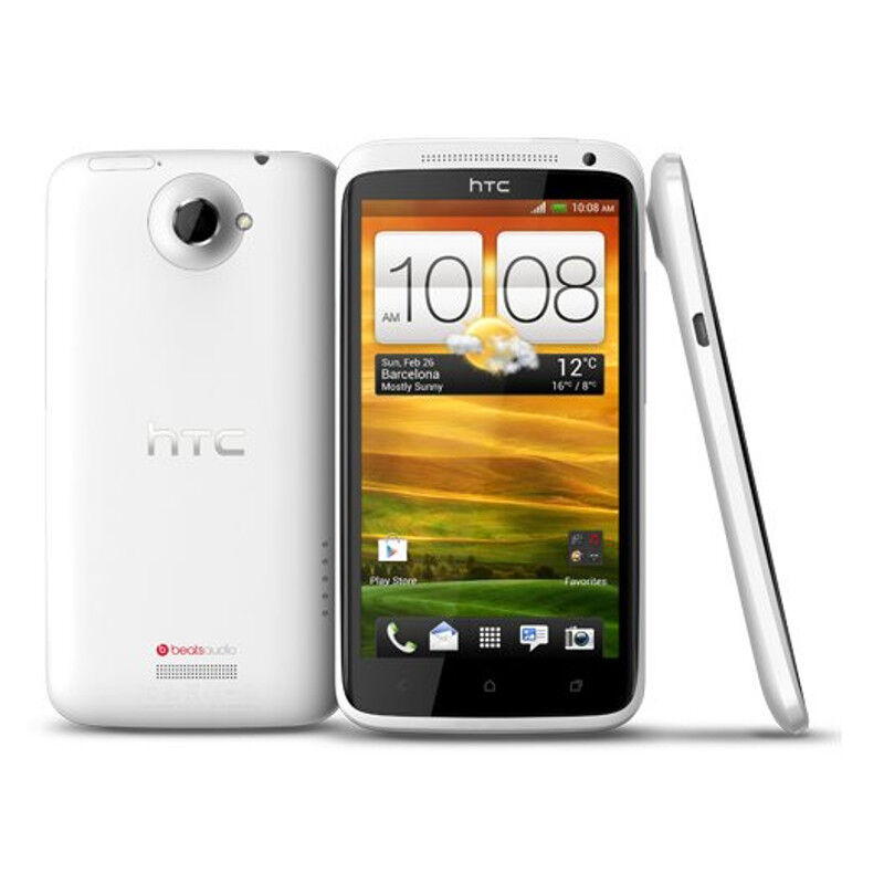 SELLER REFURBISHED HTC ONE X - 32GB - WHITE (AT&T) SMARTPHONE