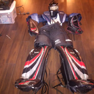 goalie complete gear