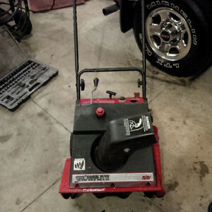 MTD Single Stage Snowblower
