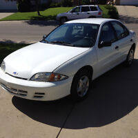 2001 Chevrolet Cavalier Sedan Great Car with low Km $1899