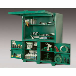 GREENLEE FIELD OFFICE DELUXE JOB BOX - TOOL BOX