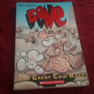 Bone #2: The Great Cow Race Graphic Novel