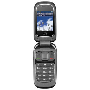 BRAND NEW UNLOCK ZTE Z222 FLIP PHONE------ANY PROVIDER WORLDWIDE